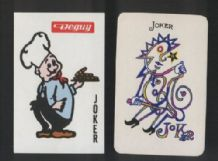 2 different joker cards from playing cards  #225